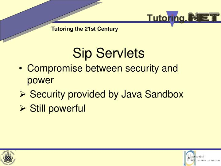 Sip Servlets