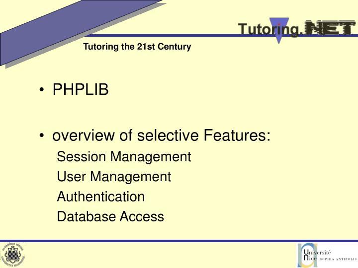 PHPLIB