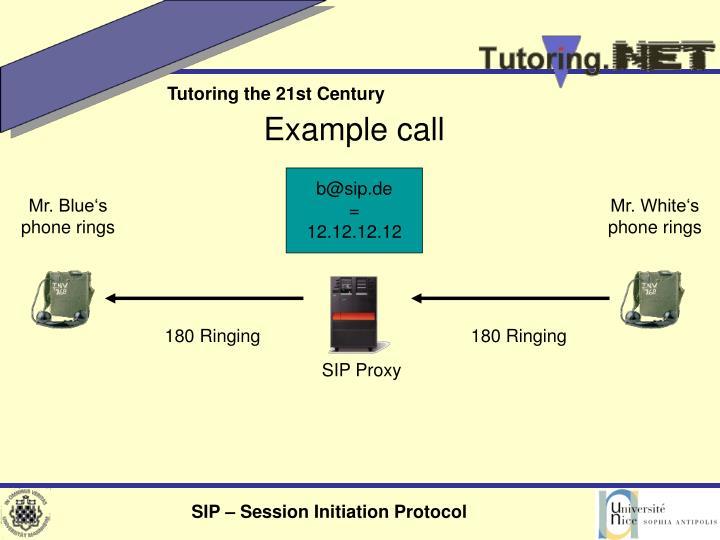 180 Ringing