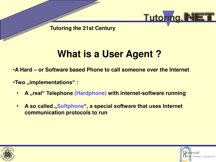 What is a User Agent ?