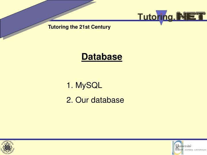 1. MySQL