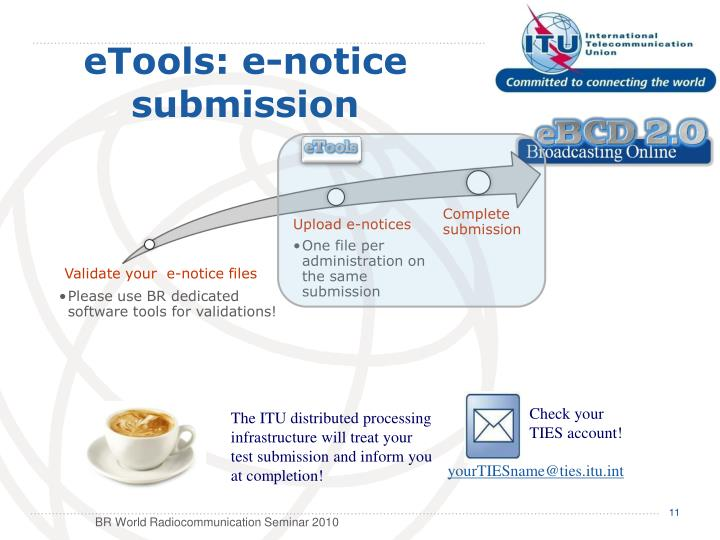 eTools: e-notice
