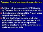 overseas private investment corporation opic