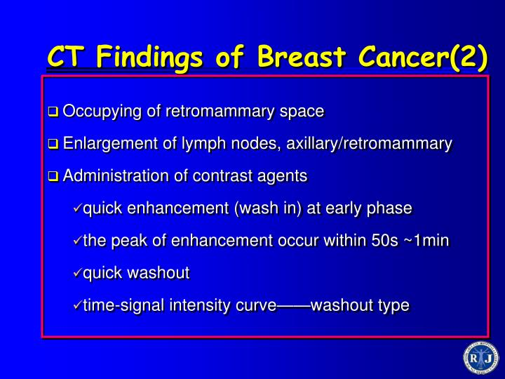 CT Findings of Breast Cancer(2)