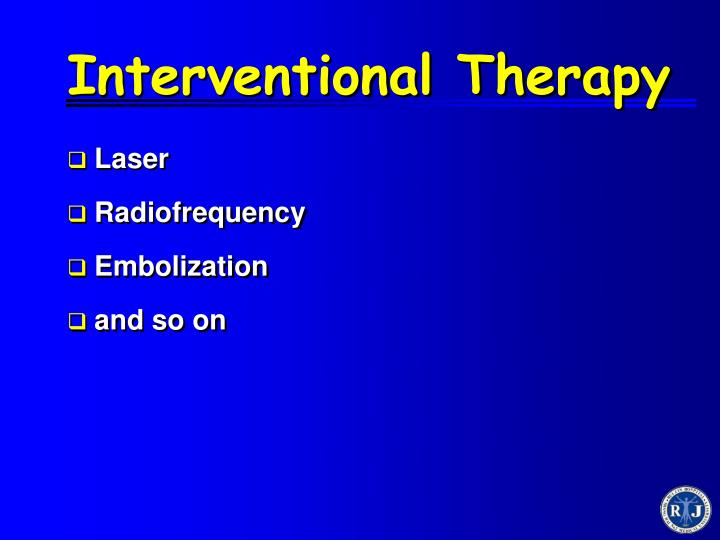 Interventional Therapy