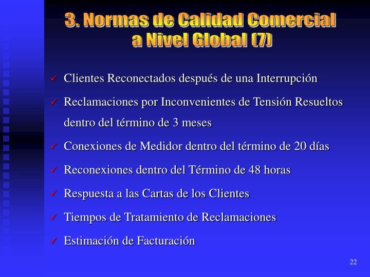 3. Normas de Calidad Comercial