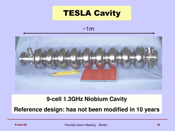 TESLA Cavity