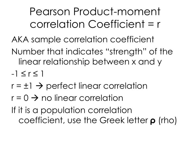 Ppt chapter 10 powerpoint presentation id 4111079 for Correlation coefficient r table