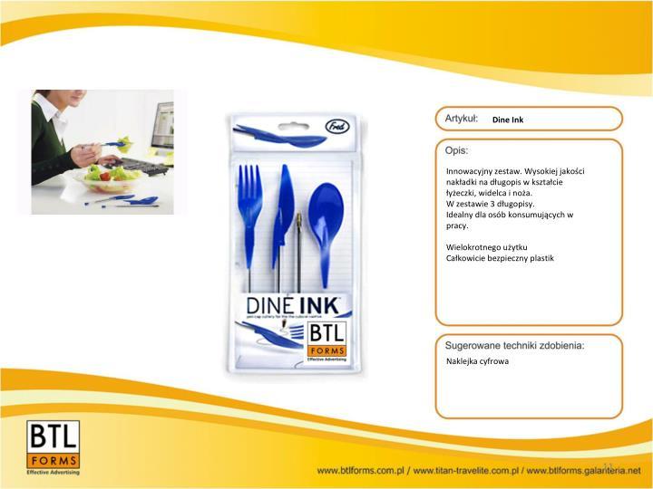 Dine Ink