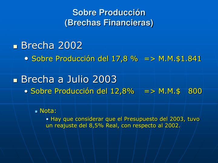 Sobre Producción