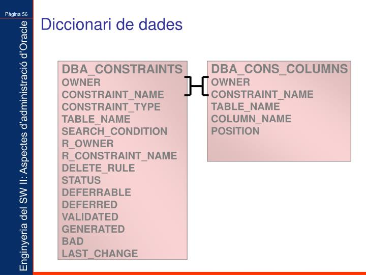Diccionari de dades
