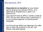normalitzaci 3fn