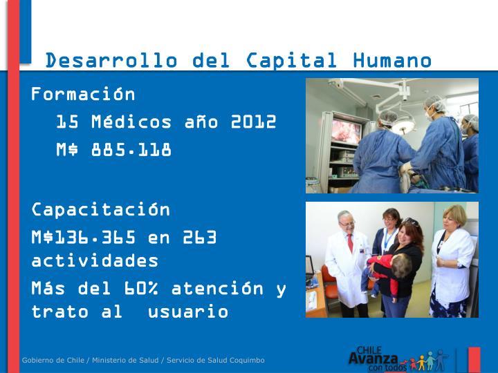 Desarrollo del Capital Humano