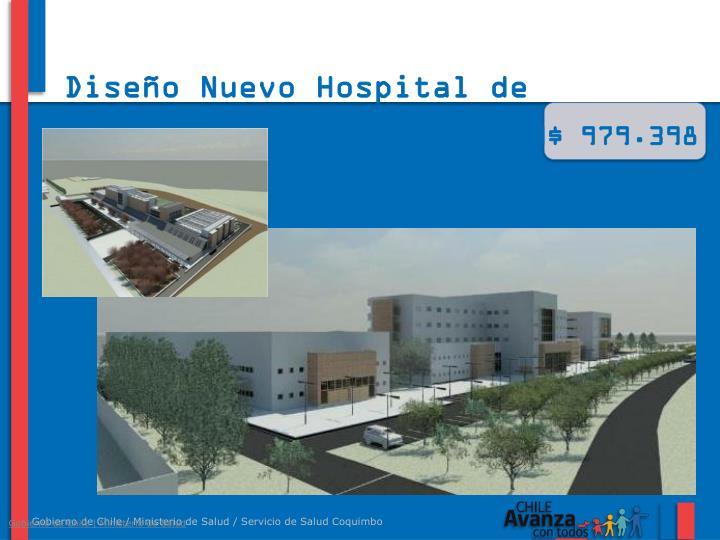Diseño Nuevo Hospital de Ovalle