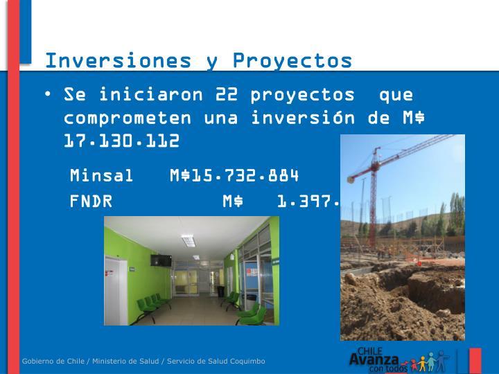 Inversiones y Proyectos