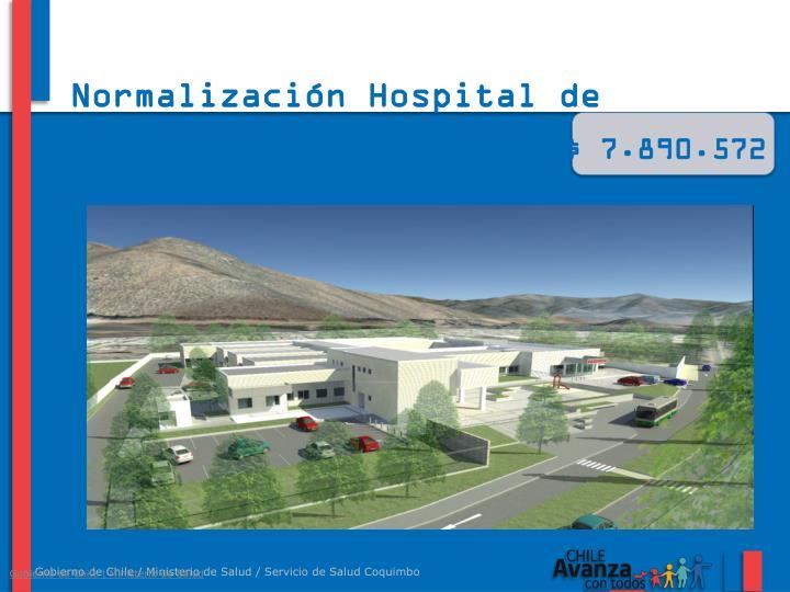 Normalización Hospital de Salamanca
