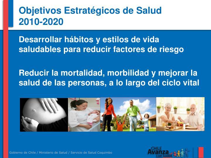 Objetivos Estratégicos de Salud