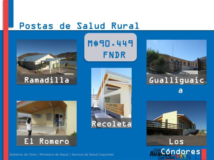 Postas de Salud Rural
