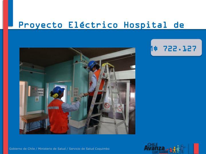 Proyecto Eléctrico Hospital de Ovalle