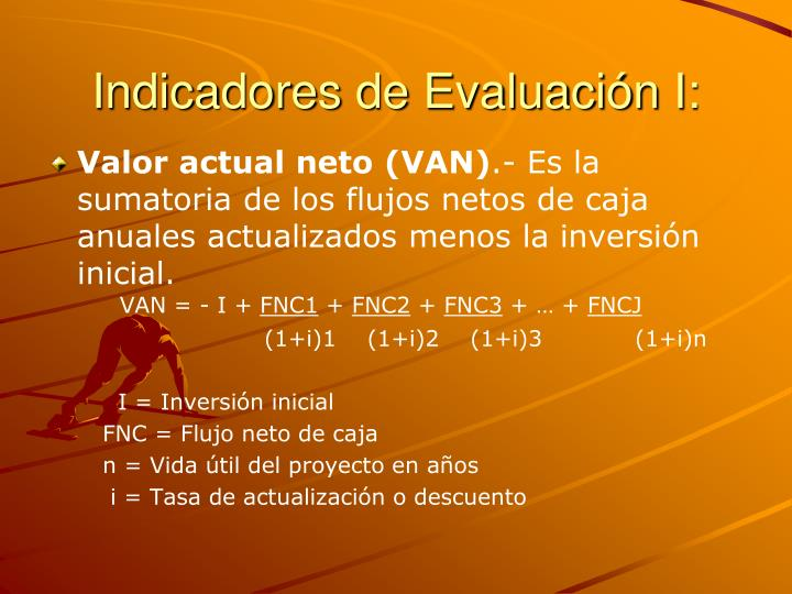 Indicadores de Evaluación I: