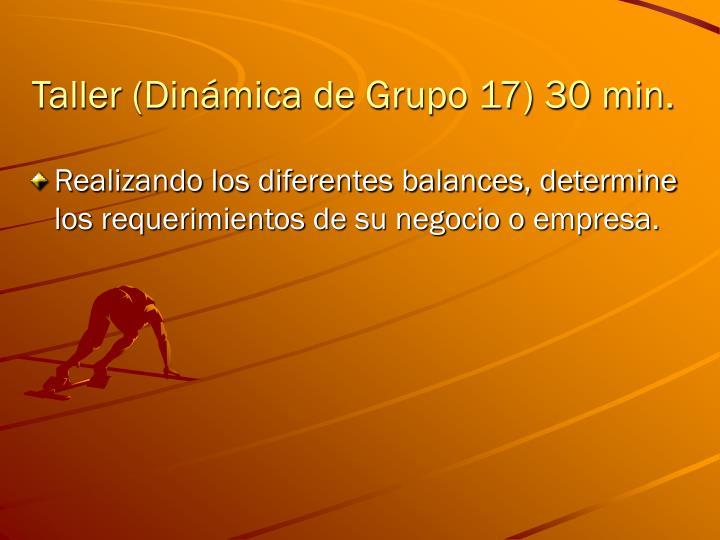 Taller (Dinámica de Grupo 17)