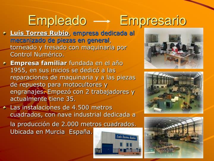 Empleado         Empresario