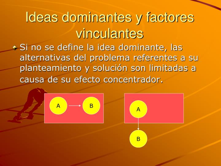 Ideas dominantes y factores vinculantes