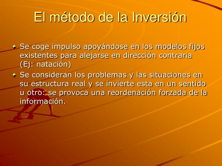 El método de la Inversión