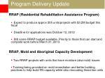 program delivery update4