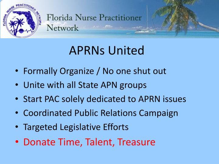 APRNs United