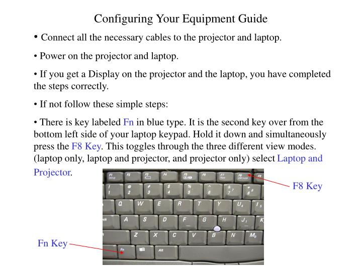 Configuring Your Equipment Guide