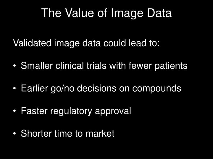 The Value of Image Data