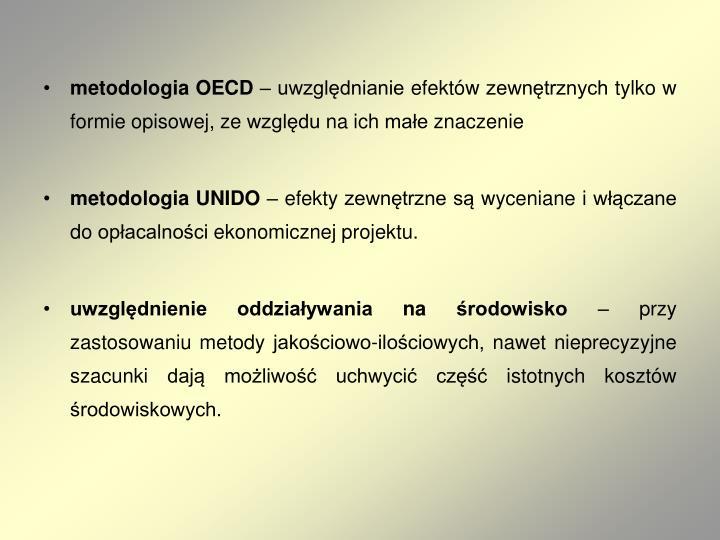 metodologia OECD