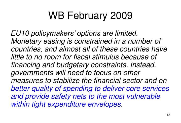 WB February 2009
