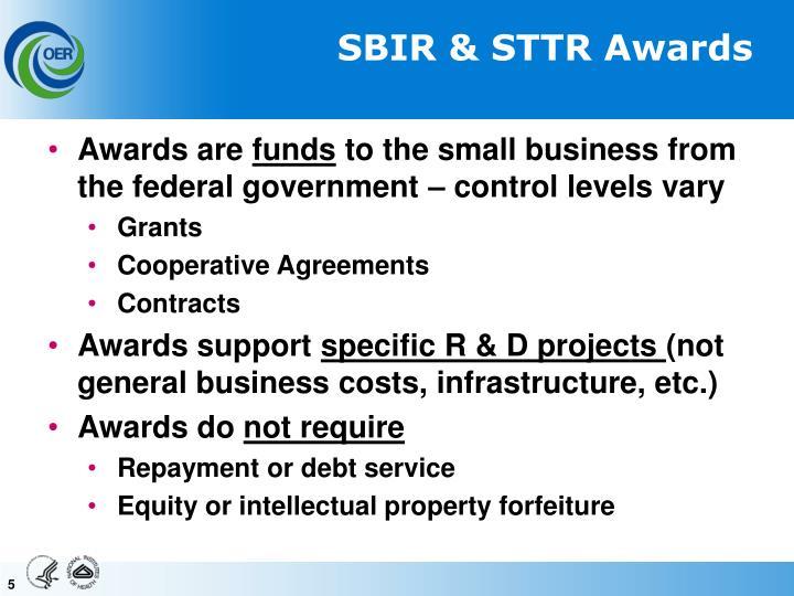 SBIR & STTR Awards