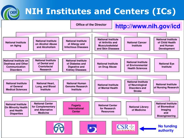 NIH Institutes and Centers (ICs)