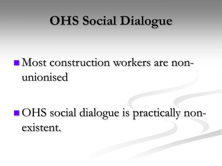 OHS Social Dialogue