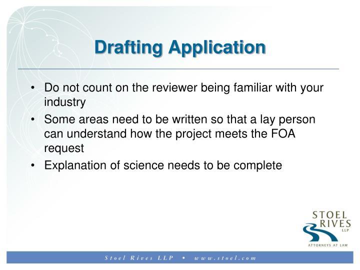 Drafting Application