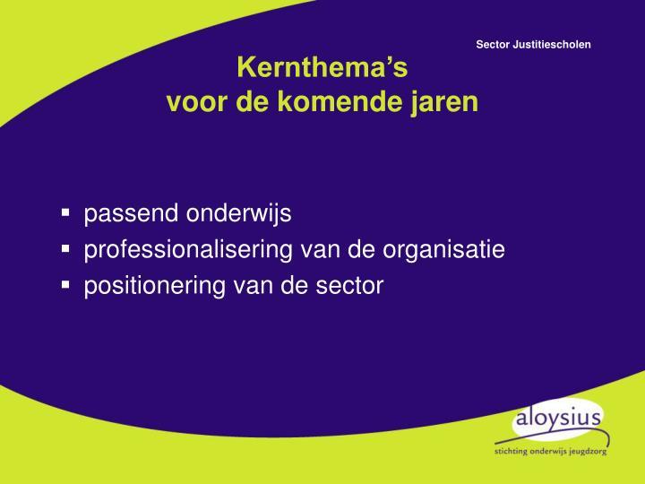 Kernthema's