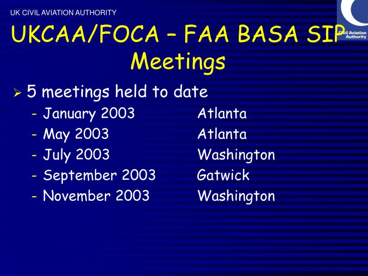 Ukcaa foca faa basa sip meetings