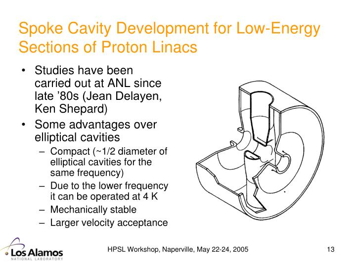 Spoke Cavity Development for Low-Energy Sections of Proton Linacs
