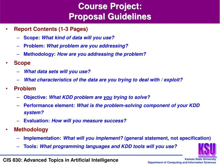 Course Project: