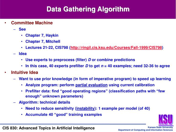 Data Gathering Algorithm
