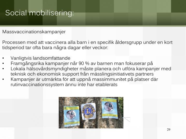 Massvaccinationskampanjer