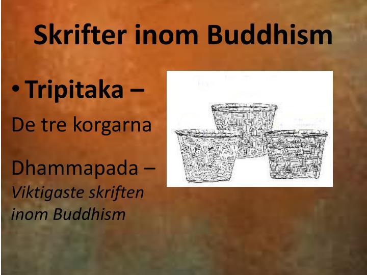 Skrifter inom Buddhism
