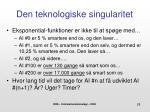 den teknologiske singularitet1