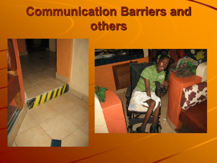 Communication Barriers and others