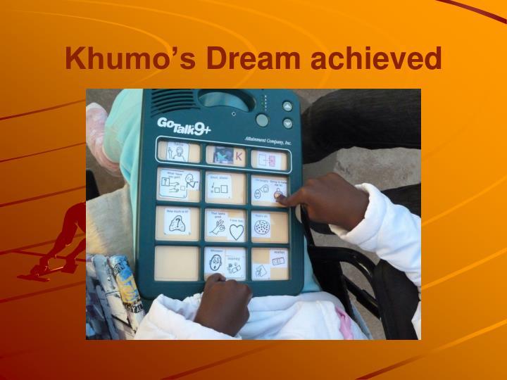 Khumo's
