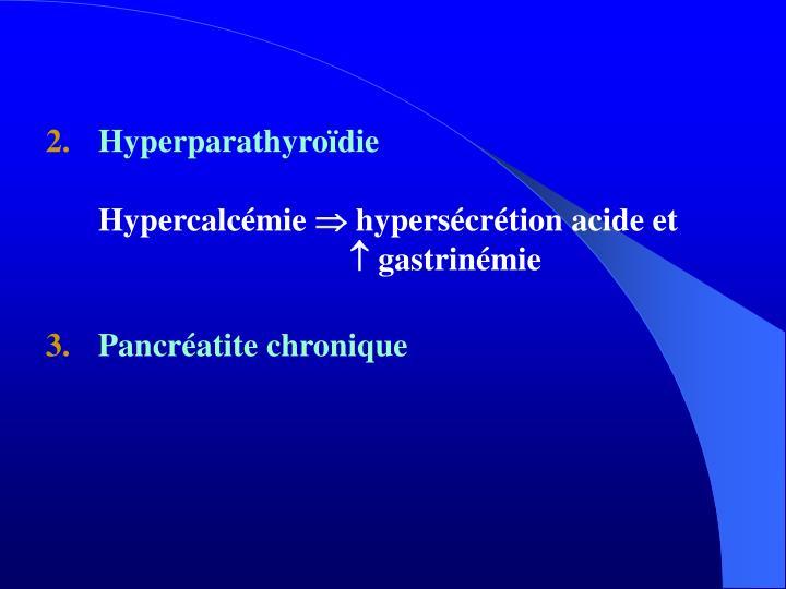 Hyperparathyroïdie