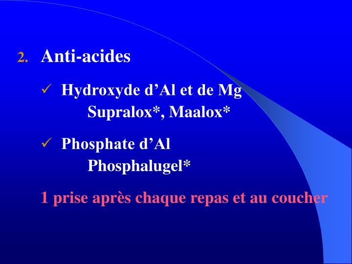 Anti-acides